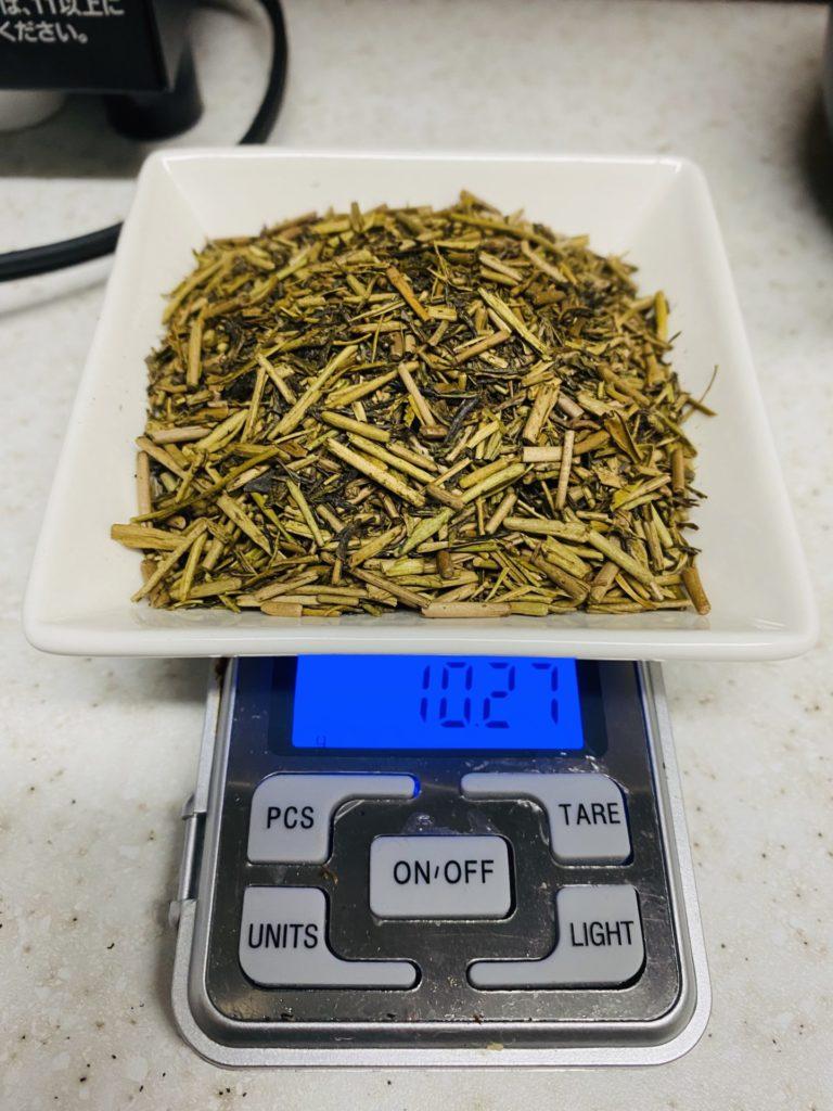 ほうじ茶の茶葉10g